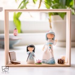 Tableau / Wooden Frame