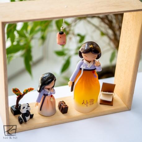 Tableau - Wooden Frame